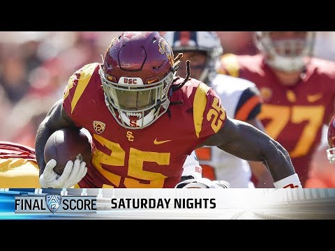 Recap: USC football rolls with balanced offensive attack over Oregon State