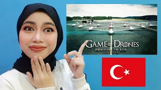 Indonesian Reacts to Game Of Drones Turkey Viral Drone