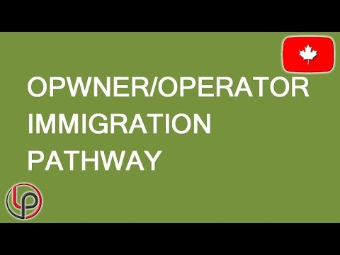 Owner Operator Canadian Immigration Alternative. LP Group