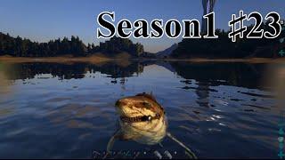 メガロドンをテイム!【ARK Survival Evolved実況】【Season1part23】