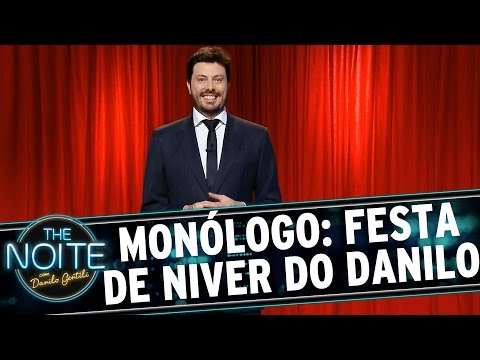The Noite (28/09/15) - Monólogo: Festa De Aniversário Do Danilo