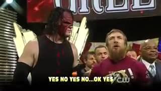 Поздравление с праздниками от WWE русская версия от 545TV)