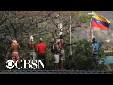Univision crew detained then deported from Venezuela – CBS World News