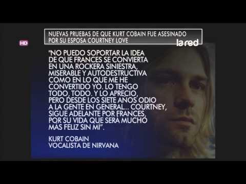 Pruebas que confirman que Kurt Cobain fue asesinado