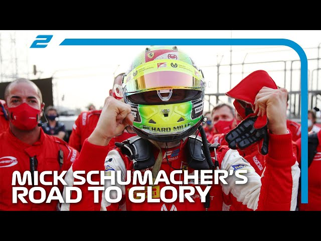 Mick Schumacher's Road To Glory | 2020 F2 Season