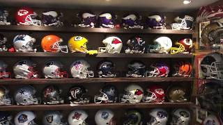 Sports Memorabilia Collection and Mancave  July 7 2020