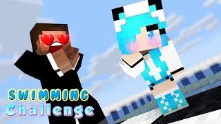 MONSTER SCHOOL : NEW BABY CLASSMATE (SWIMMING CHALLENGE) -Best Minecraft Animation