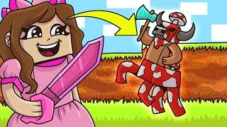 Minecraft: MOB SIMULATOR! (FIGHT MOBS, BUY SWORDS, EARN PETS!) Modded Mini-Game