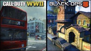 COD WW2 & BO4 NEW LEAKED MAPS! Raid, Underground, Standoff & More! (BO4 & WW2 Leaked Maps)