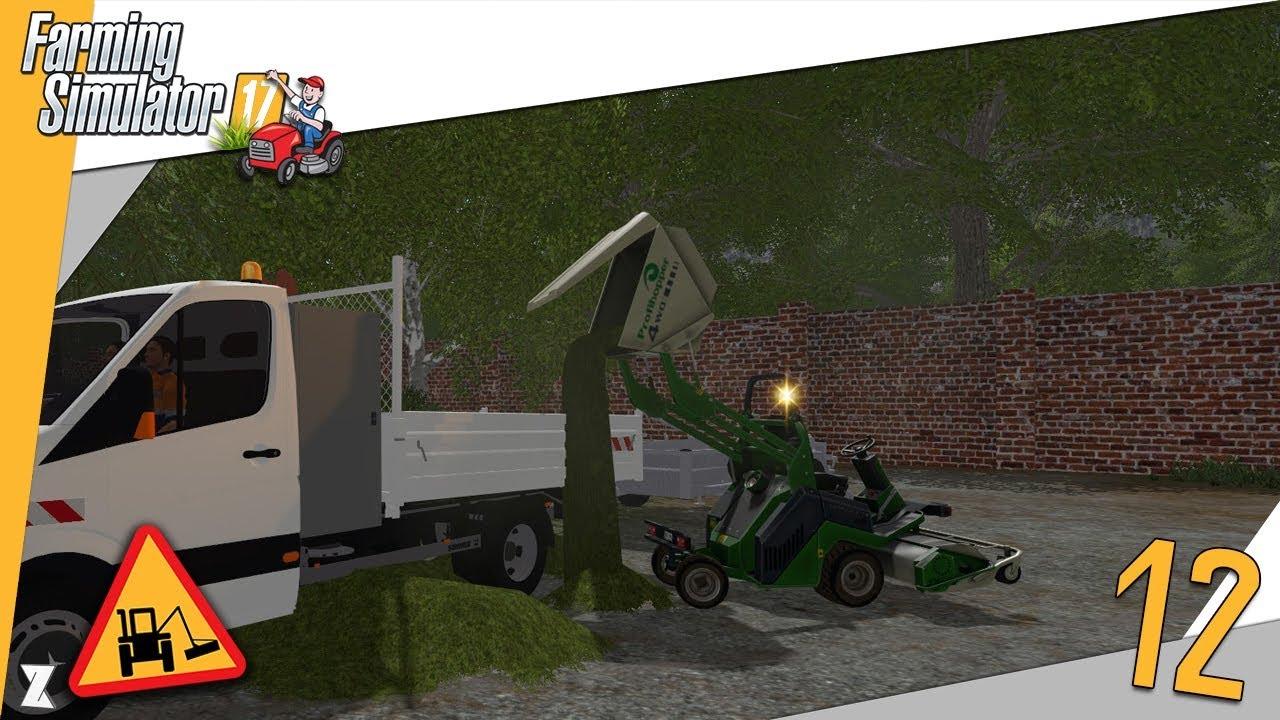 farming simulator 17 entretien communal 12 tonte avec du nouveau mat riel youtube. Black Bedroom Furniture Sets. Home Design Ideas