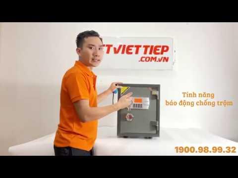 Thông tin chi tiết Két sắt điện tử Việt Tiệp bán chạy 2020 – bền đẹp, dễ sử dụng