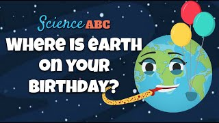 Does Earth Come Back To The Same Spot In Space Every Year On Your Birthday?