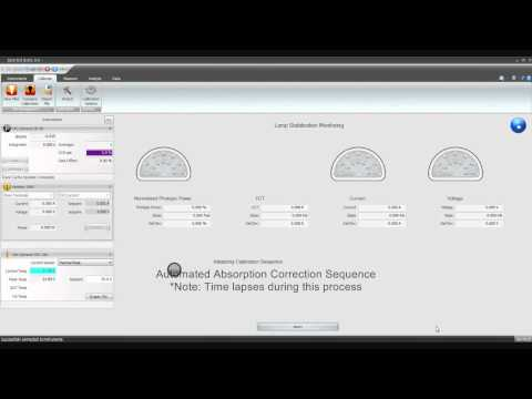 Absorption Correction Calibration File creation using Orb Optronix Spectral Suite 3.0 @orboptronix