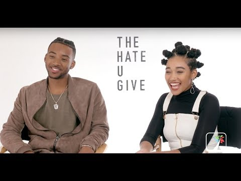 The Hate U Give: Stars Amandla Stenberg, Algee Smith at 2018 Toronto Film Festival
