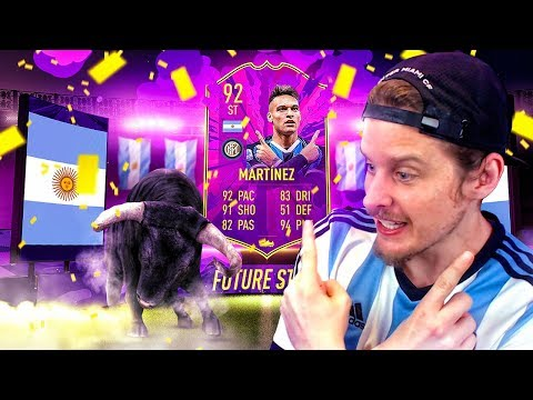 THIS CARD IS INSANE! 92 FUTURE STARS MARTINEZ PLAYER REVIEW! FIFA 20 Ultimate Team