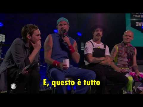 Red Hot Chili Peppers intervista iHeart Radio 26 maggio 2016