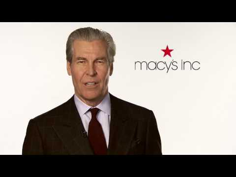 Macy's Chairman, President & CEO Terry Lundgren on Sustainability