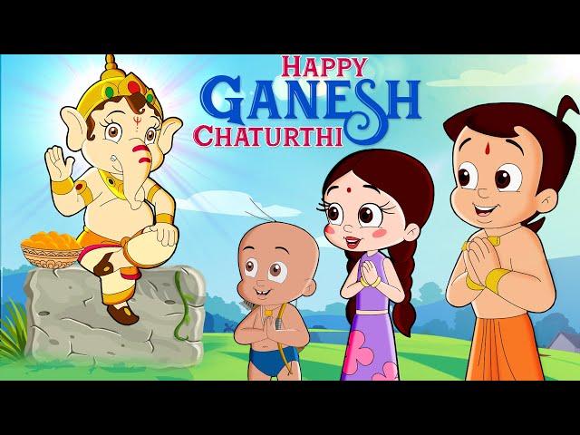 Chhota Bheem - Dholkapur Ganesh Utsav   जल दानव का हमला   Ganesh Chaturthi Special Video
