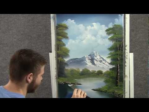 Landscape oil painting in just 18 minutes wet on wet