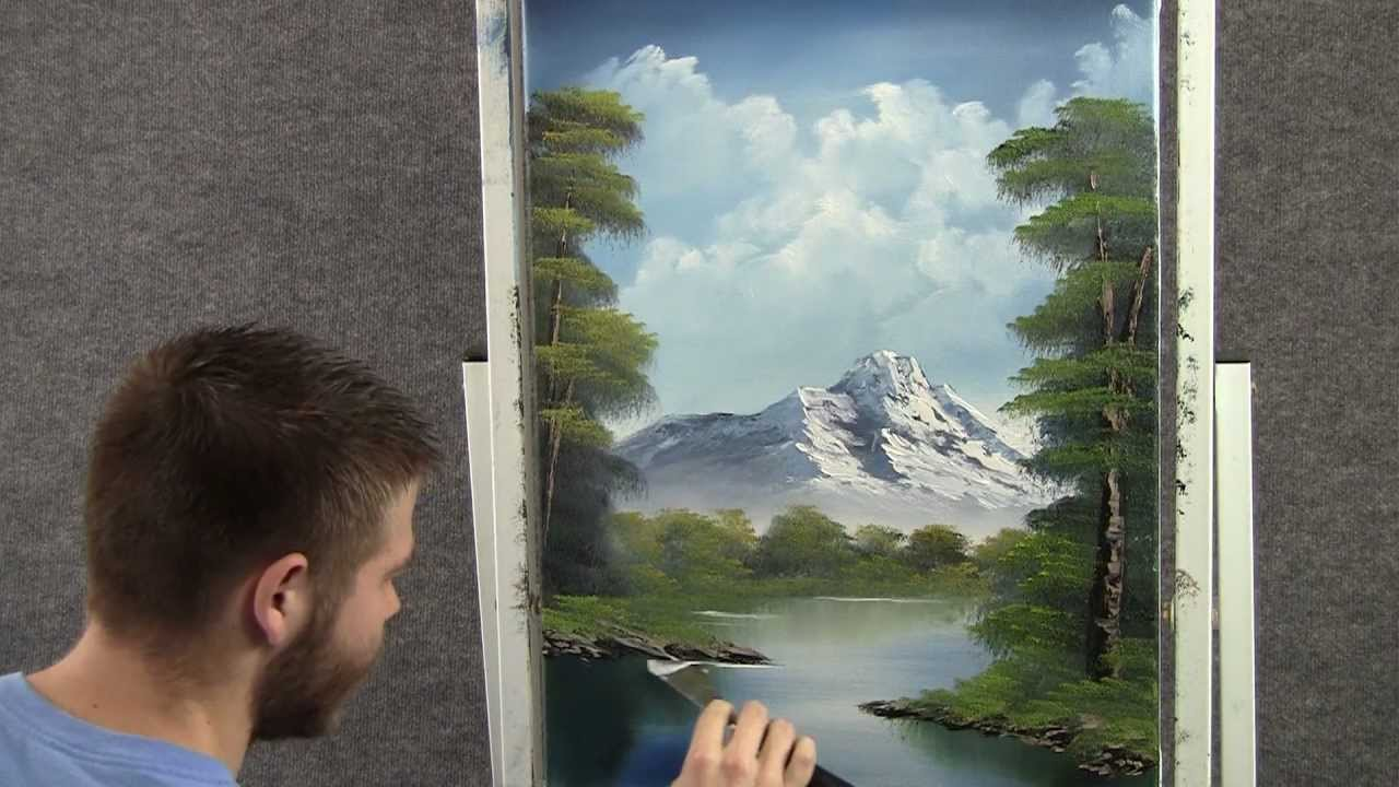Landscape oil painting in just 18 minutes wet on wet - Landscape Oil Painting In Just 18 Minutes Wet On Wet - YouTube