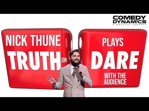 Nick Thune - Audience Truth Or Dare (Stand up Comedy) - YouTube