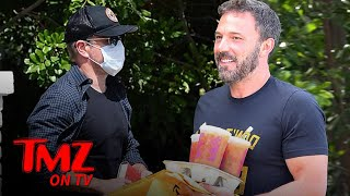 Matt Damon Visits Buddy Ben Affleck In Quarantine | TMZ