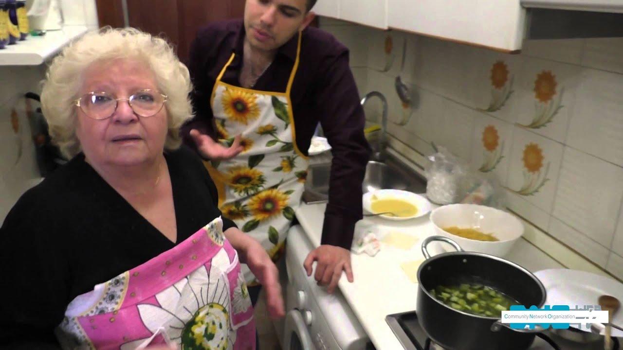 In cucina con nonna enzina pasta e zucchine con uova for A cucina ra nonna