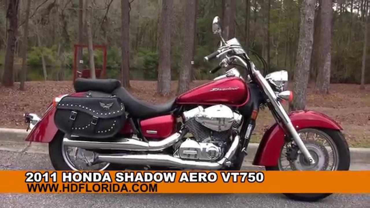 Used 2011 Honda Shadow Aero VT750 Motorcycles for sale in ...