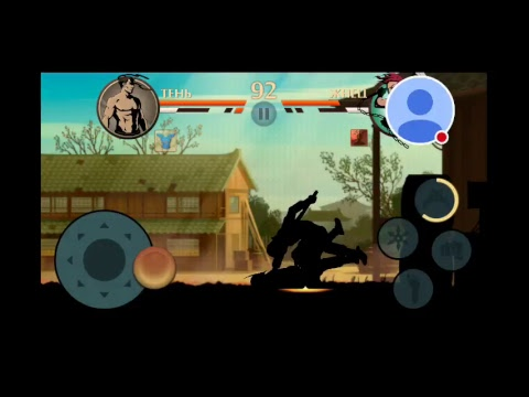 """Стрим игры """"Shadow Fight 2""""."""