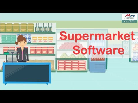 Supermarket Software | Hypermarket software | Convenience store software [Hindi]