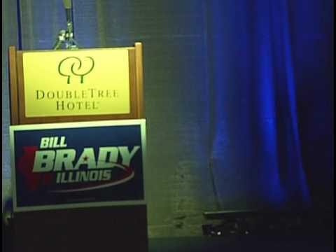 Bill Brady's Primary Party (TV 10)
