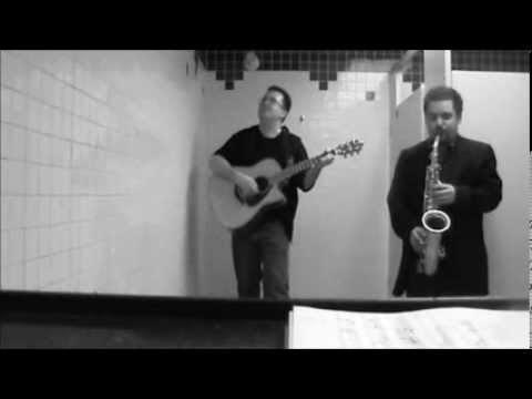 """Mr Tamborine Man"" by Bob Dylan covered by Vince Millward with Steve Karp on sax"
