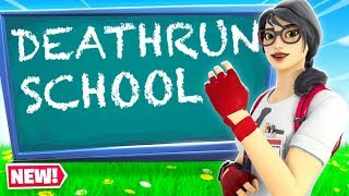 The Official DEATHRUN SCHOOL for DEFAULTS! (Fortnite Creative Mode)