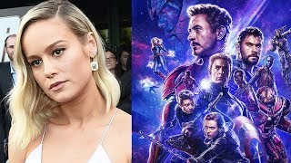 Avengers Endgame Cast Hate Brie Larson \u0026 Don Cheadle Reacts To This
