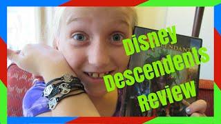 DISNEY DESCENDENTS MOVIE & FREE BRACELET REVIEW