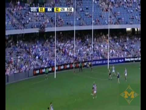 North Melbourne Vs Geelong 2nd Half Highlights NAB Cup Round 1 2010