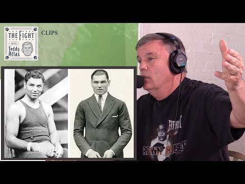 Homeless To Heavyweight Champ - Teddy Atlas Tells Jack Dempsey Story