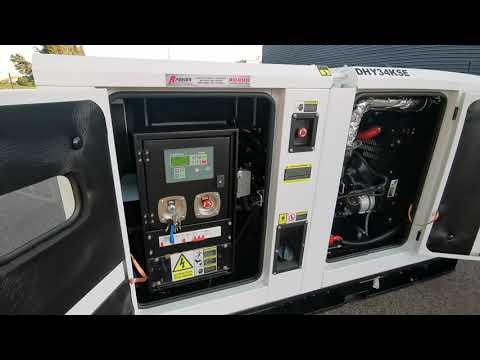 Groupe électrogène diesel 34KVA 1500tr/mn ITC POWER DHY34KSE
