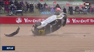 Toyota 86 Racing Series 2019. Race 2 Mount Panorama Circuit. Big Crash Rolls