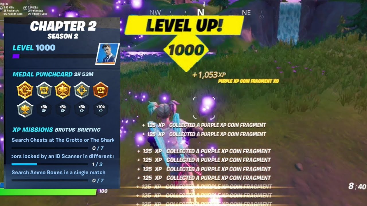 Fortnite Xp Glitch Unlimited Xp Level Up Fast In Season 2 Chapter 2 Youtube Fast xp and levels with this trick! fortnite xp glitch unlimited xp level up fast in season 2 chapter 2