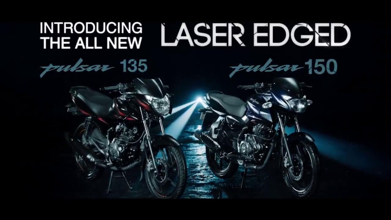 All new 2017 laser edged pulsar 135 ls 150