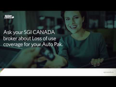 SGI Canada - Auto Pak Coverage
