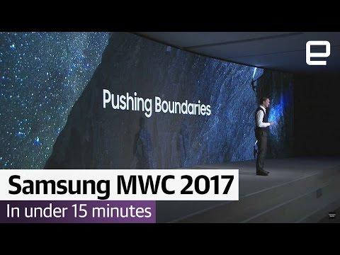Samsung MWC 2017 in Under 15 Minutes