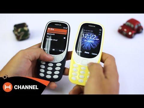 Đập hộp Nokia 3310 (2017): Siêu phẩm đang gây bão nhất hiện nay | H Channel