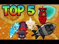 Bloons TD 6 - TOP 5 WAYS TO KILL DDT'S