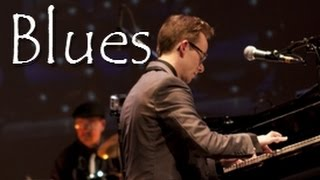 "Best Young Blues Artist - Chase Garrett - plays ""Tiny Man"" piano blues"