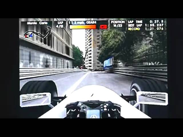 F1 World Grand Prix on Dreamcast. Gameplay & Commentary