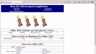 Office 2010 Class #16: Word Style Tricks: Send Word To PowerPoint & Table Of Contents