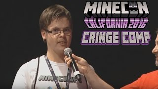Minecon 2016 Cringe Compilation | Most Awkward Moments at Minecon 2016