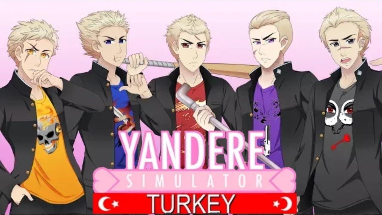 New Delinquents in Yandere Simulator - Turkish Sub (Türkçe Altyazılı)